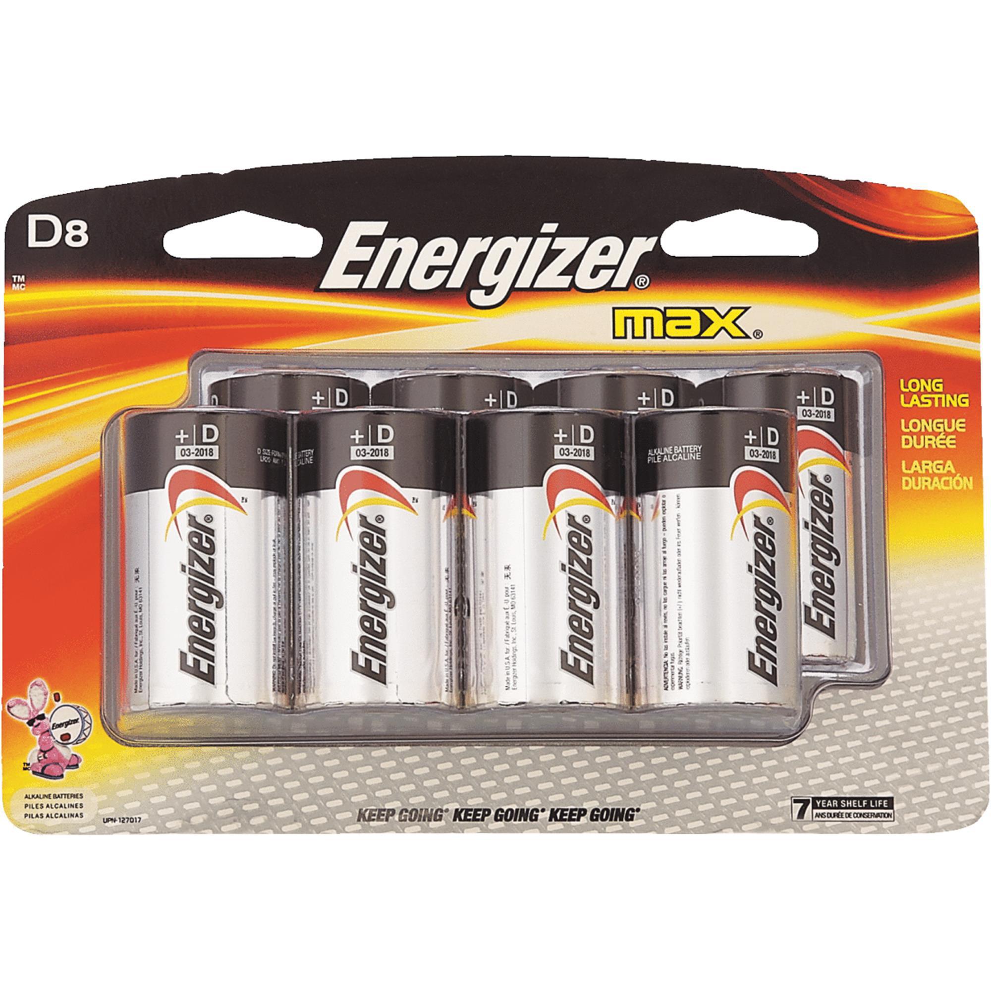 Energizer Max D Alkaline Battery