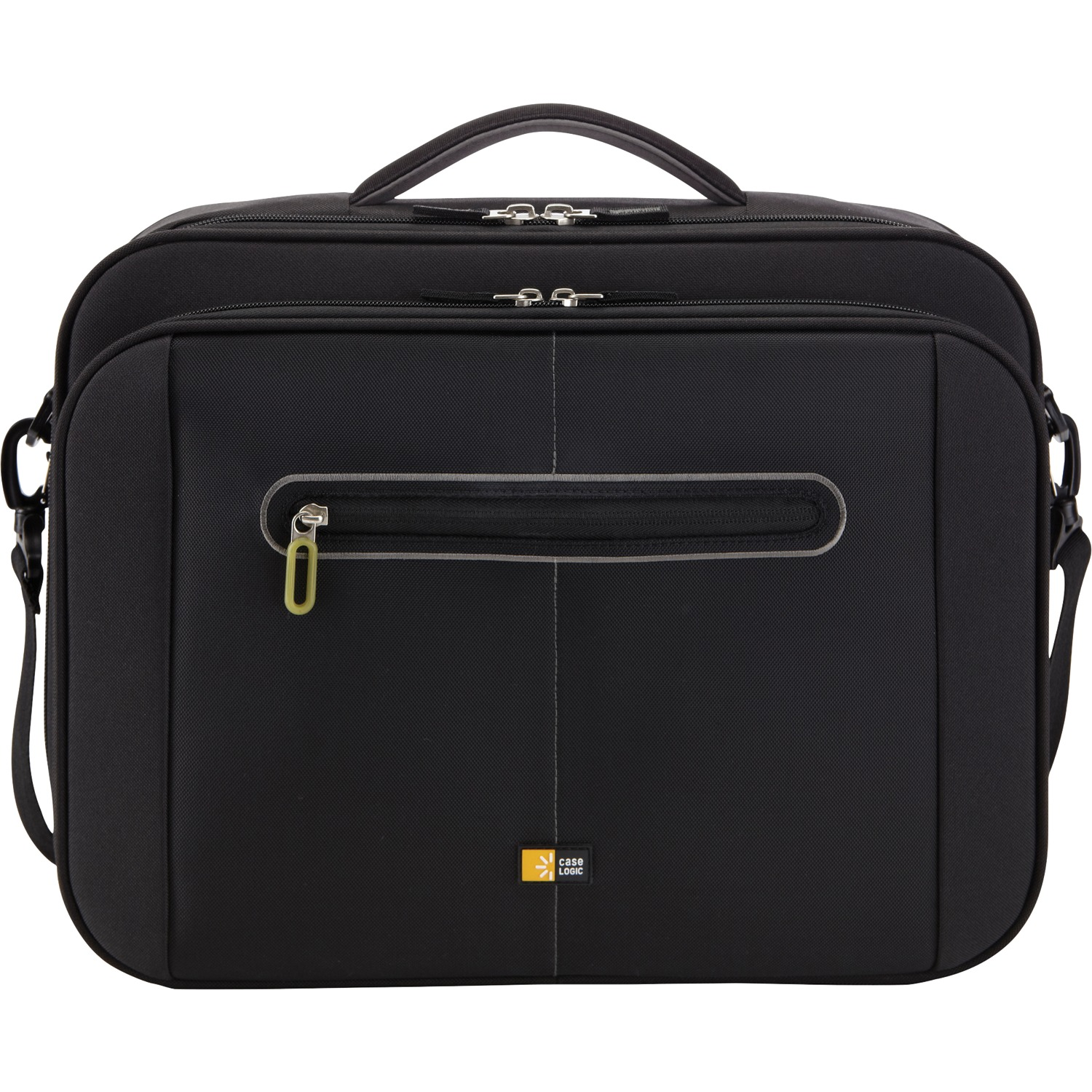 "Case Logic 3201207 16"" Track Clamshell Laptop Briefcase"