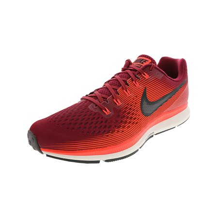 sneakers for cheap d1bf4 7f02d Nike Men s Air Zoom Pegasus 34 Vast Grey   University Red Ankle-High Running  Shoe ...