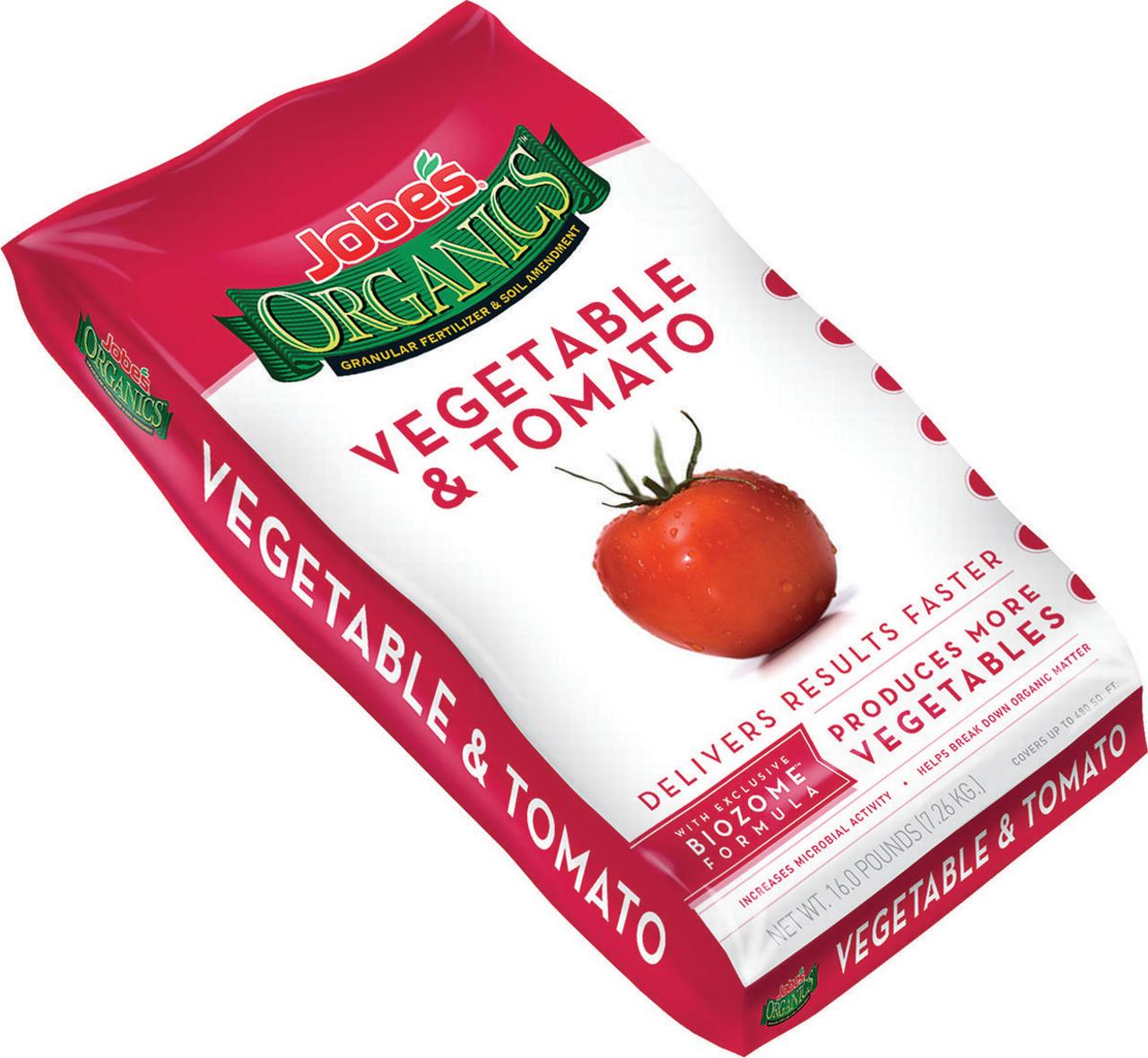 Easy Gardener 09023 Tomato and Vegetable Fertilizer, 16 lb, Brown, Granular