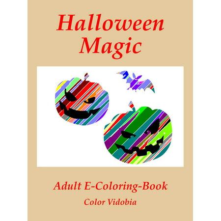 Halloween Magic - eBook (Magic Color Scratch Halloween)