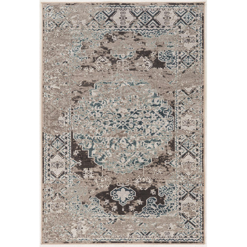 Linon Rugs Blue/Gray Area Rug