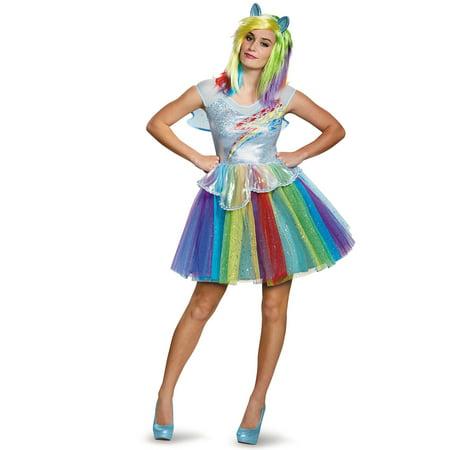 Adult Rainbow Dash Deluxe - Adult Rainbow Dash