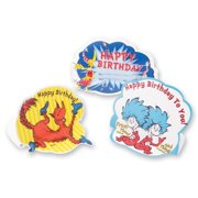 Dr. Seuss Happy Birthday Stand Up Reward - 24 per pack