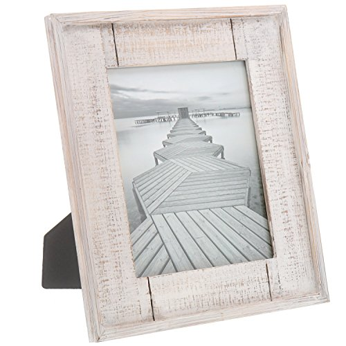 Barnyard Designs Rustic Distressed Picture Frame 8 X 10 Wood Photo