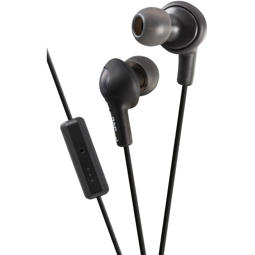 JVC Gummy Plus Inner Ear Headphones with Microphone Remote