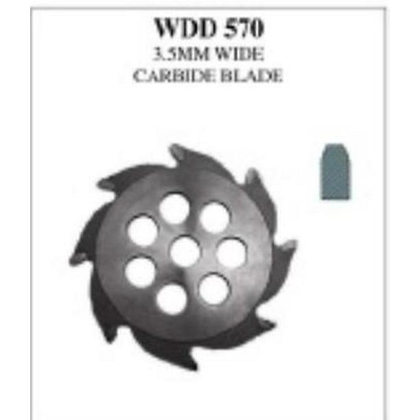 Wdd570 Winkelman Groover Carbide Blade 3 5mm Wide Walmart Com Walmart Com
