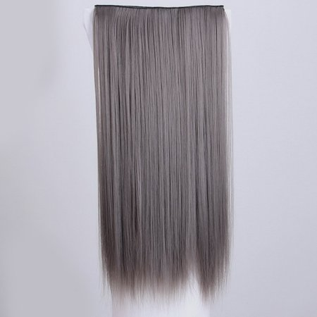 VENSE Natural Fashion Women High Temperature Wigs Straight Synthetic Hair Cosplay - image 2 de 2