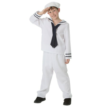 Child White Sailor Costume - Sailor Costume Ideas
