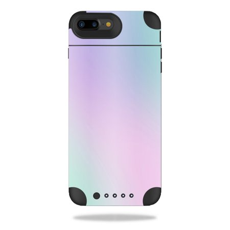 MightySkins Protective Vinyl Skin Decal for Mophie Juice Pack Air iPhone 7 Plus Plus wrap cover sticker skins Cotton Candy ()