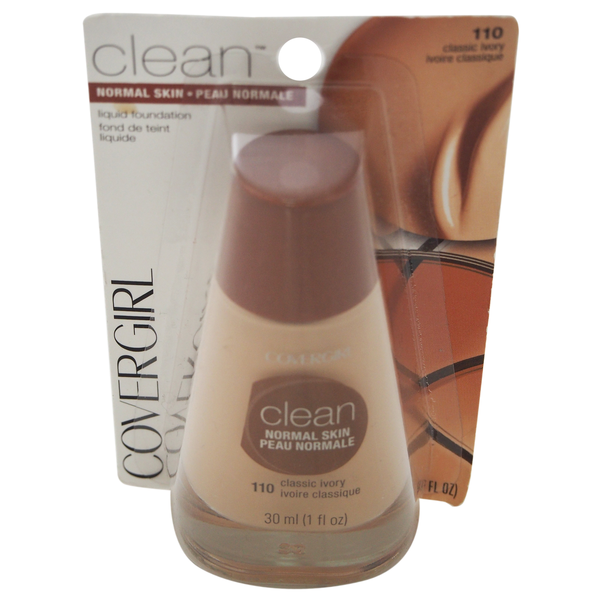 CoverGirl Clean Oil Control Liquid Makeup, Classic Ivory 1 Oz