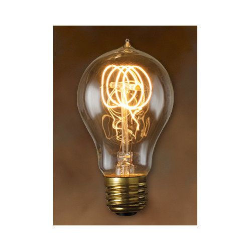 Bulbrite Quad Loop Filament Incandescent Edison Light Bulb - 6 pk.