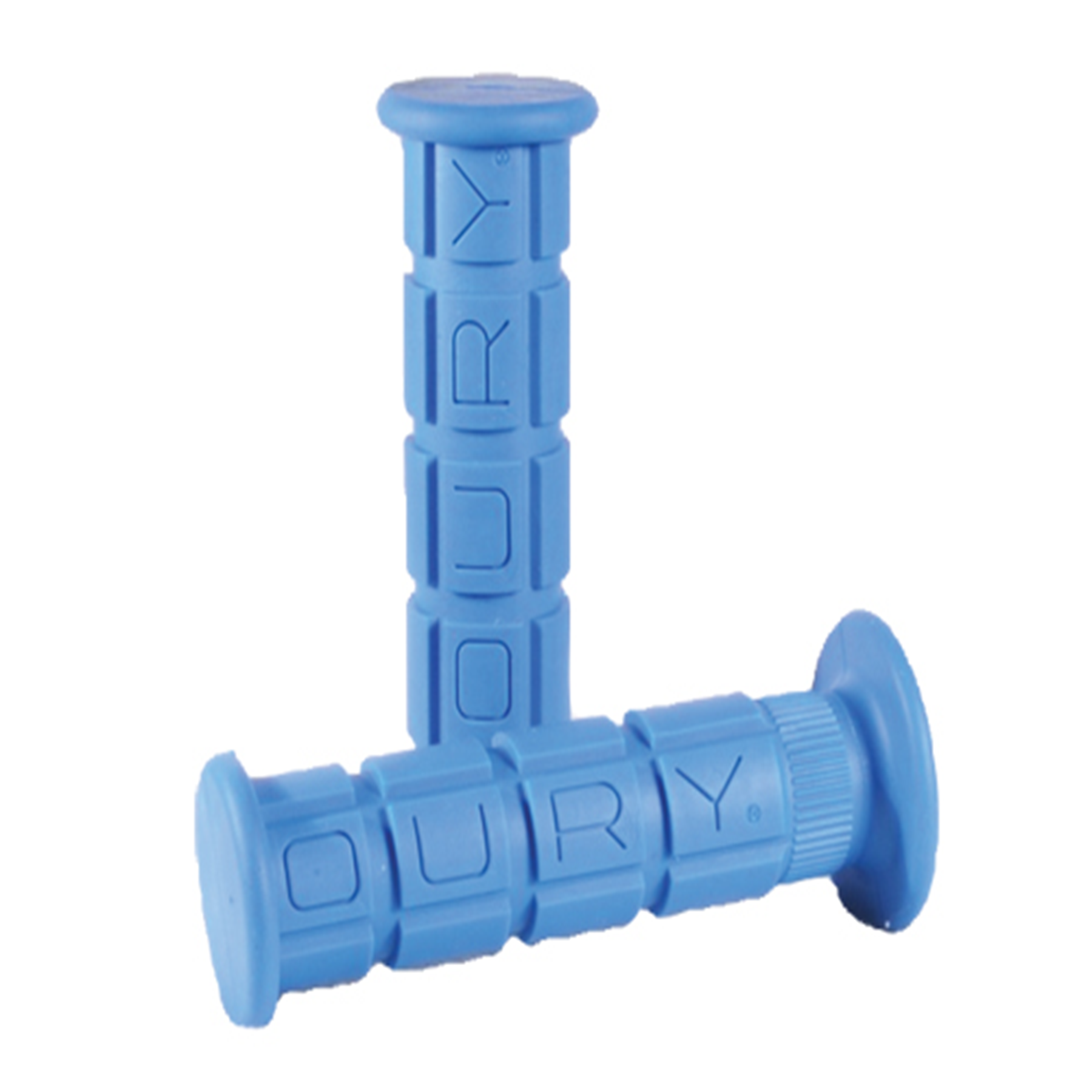 OURY STD GRIP/BLUE/LOW FLANGE