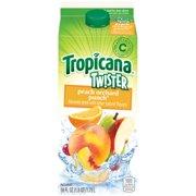 Tropicana Twister Peach Orchard Punch Drink, 59 Fl. Oz.