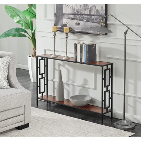 Convenience Concepts Town Square Metal Console Table ()
