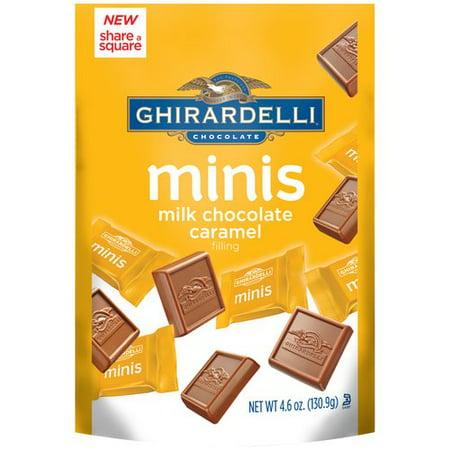Ghirardelli Minis Milk Chocolate Caramel Candies, 4.6 Oz.