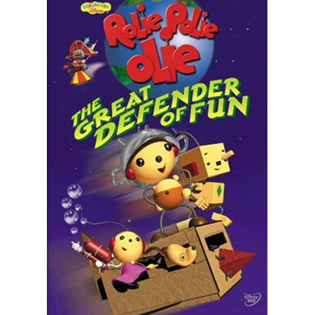 Rolie Polie Olie: Great Defender Of Fun (DVD) - Rolie Polie Olie Halloween
