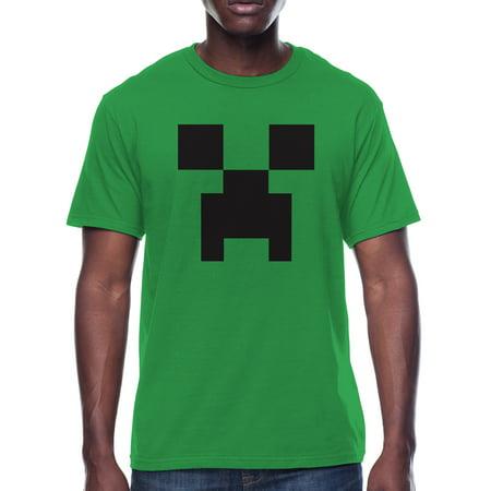 Minecraft Creeper Men's Graphic T-Shirt