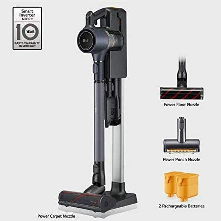 LG - CordZero Bagless Cordless Handheld/Stick Vacuum - Matte Gray