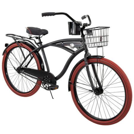 """Huffy 26"""" Nel Lusso Men's Single-Speed Comfort Cruiser Bike"""