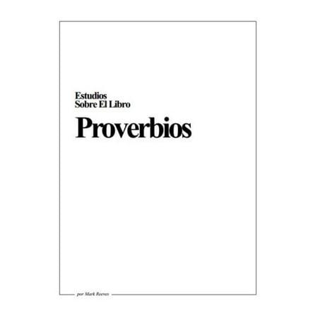 PDF Estudio del Libro de Proverbios, En formato digital