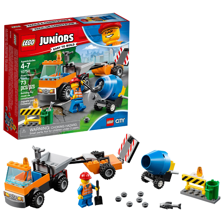 LEGO Juniors Road Repair Truck 10750 Building Set (73 Pieces)