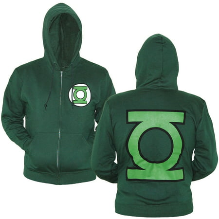 Green Lantern Hoodie (Green Lantern Symbol Zip-Up)