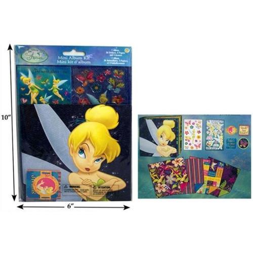 Bulk Buys Disney Fairies Mini Album - Pack of 6