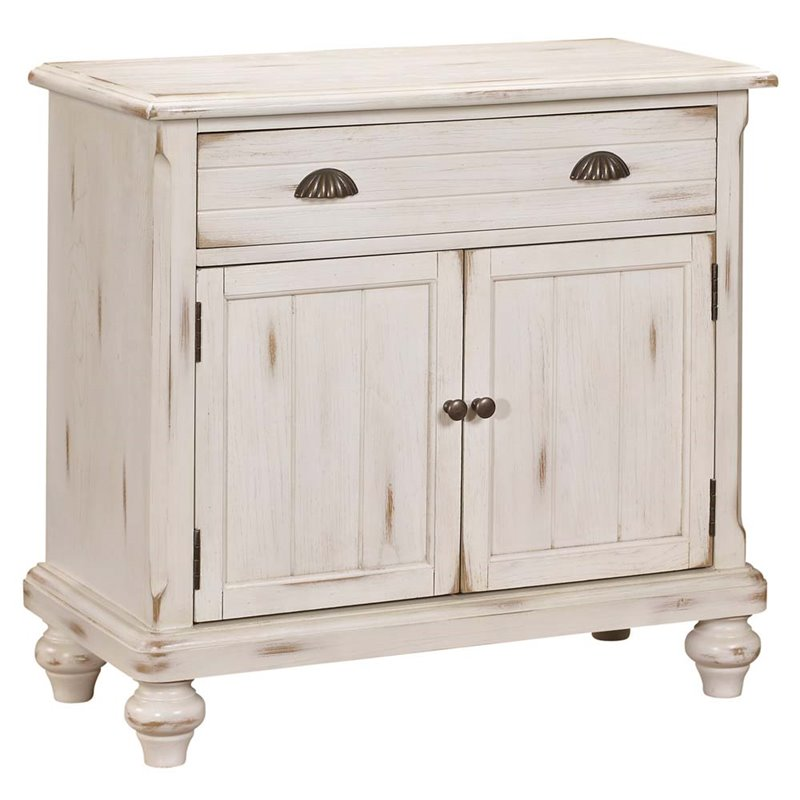 PRI Country Door Accent Chest in Cream White