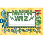Math Wiz Incentive Punch Cards