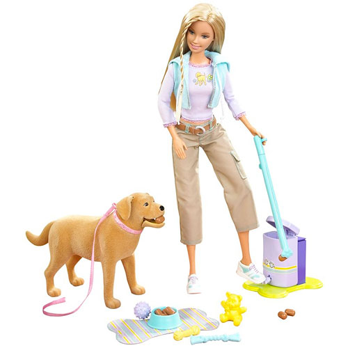**RECALL**Barbie Doll & Tanner Dog