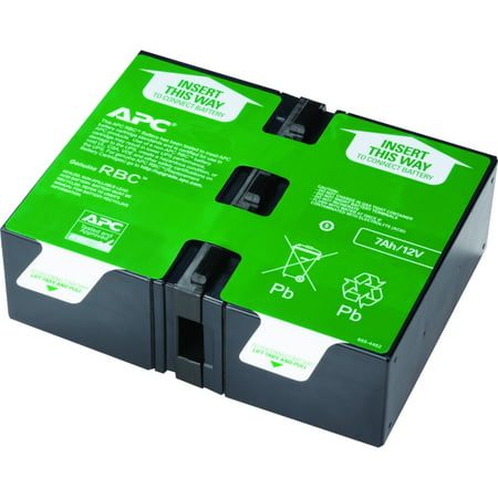 APC by Schneider Electric APCRBC123 UPS Replacement Battery Cartridge # 123 - Sealed Lead Acid (SLA) - Spill-proof/Maintenance-free - Hot Swappable - 3 Year Minimum Battery Life - 5 Year Maximum (11 Ups Battery Lead)