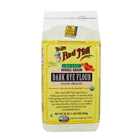 Amaranth Flour Bobs Red Mill ((2 Pack) Bobs Red Mill Organic Dark Rye Flour, 22)