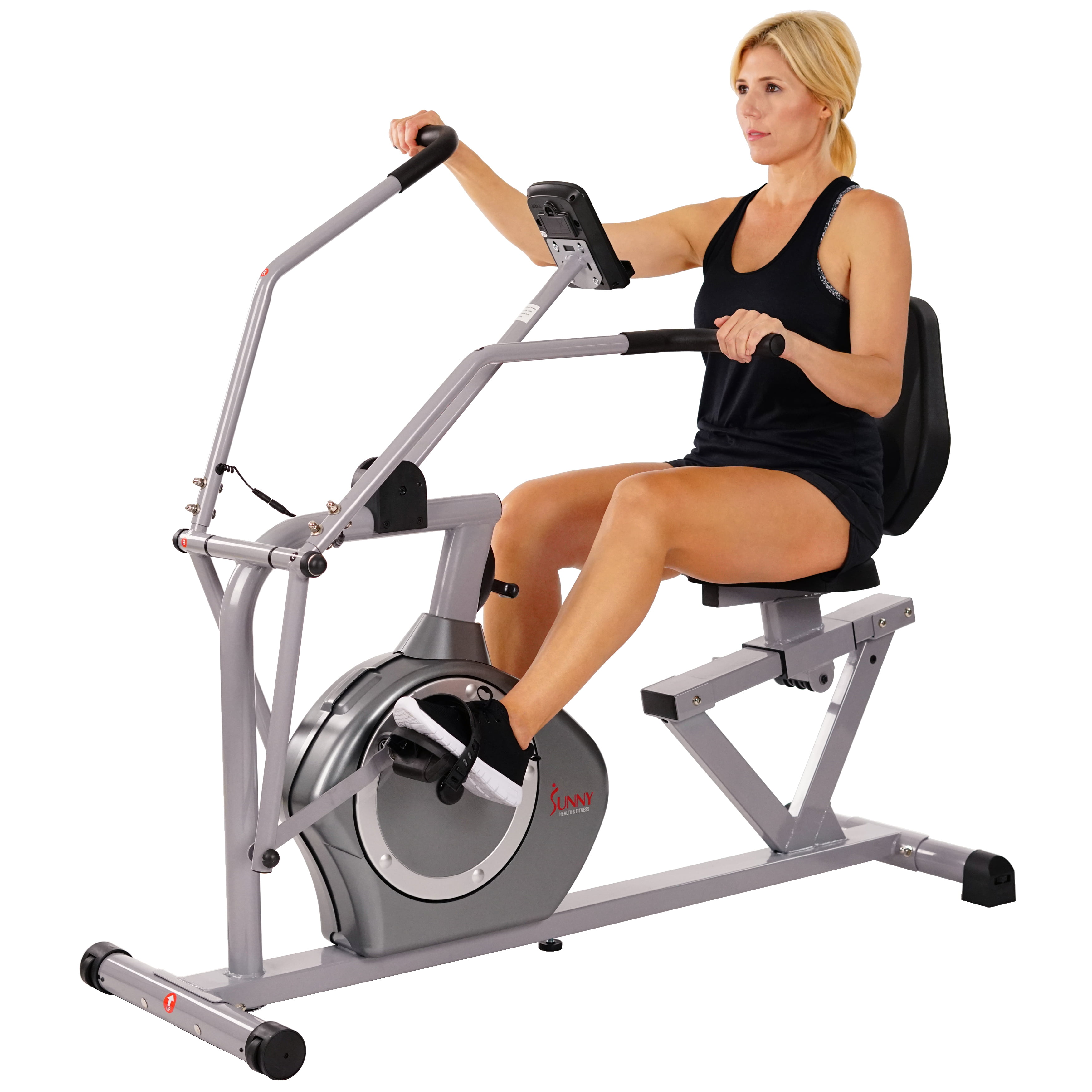 Sunny Health & Fitness Cross Training Magnetic Recumbent Bike SF-RB4708 by Sunny Health & Fitness