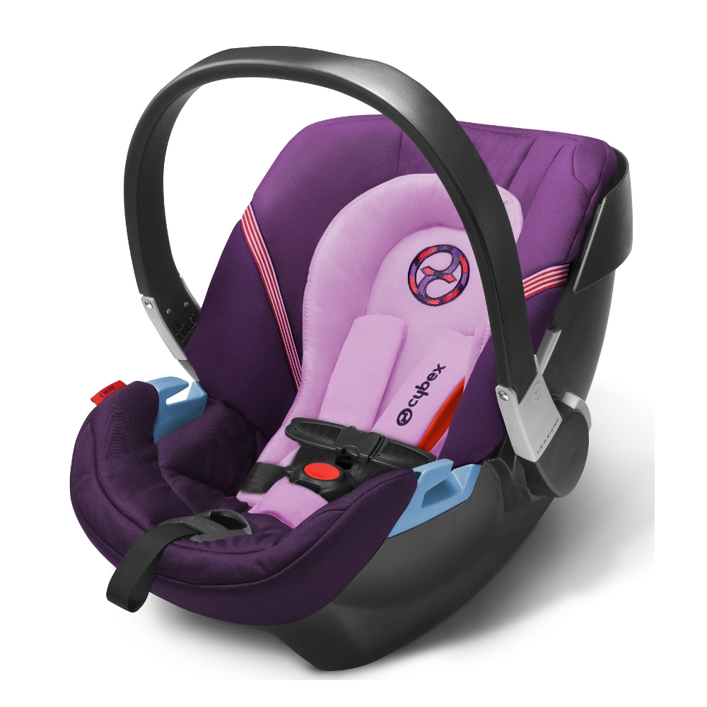 Cybex Aton 2 Infant Car Seat, Grape Juice