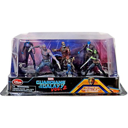 Marvel Guardians of the Galaxy 2 Guardians of the Galaxy Vol. 2 6-Piece PVC Figure Play Set