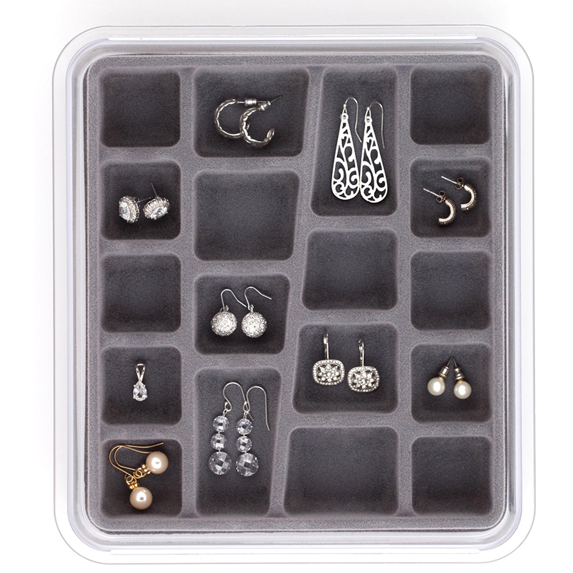 Neatnix Jewelry Stax Earring Organizer 18 Compartment