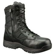 "Original Swat Metro 9"" Waterproof Side Zipper Safety Mens Black Boots 129101"