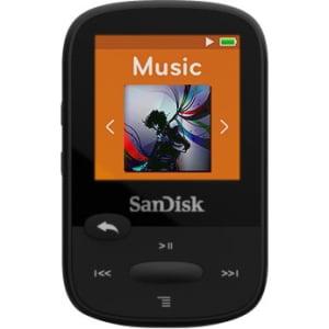 8GB SanDisk Clip Sport MP3 Player - Black