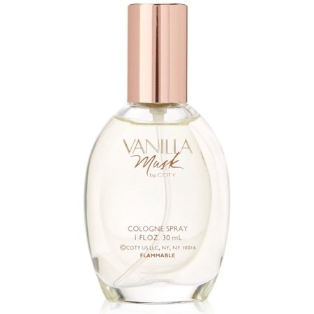 Coty Mini Perfume (Vanilla Musk by Coty Cologne Spray for Women 1 oz )