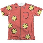 Family Guy - Quagmire Costume (Front/Back Print) - Short Sleeve Shirt - X-Large