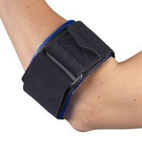 OTC Tennis Elbow Strap with Gel Pad, Black, Universal