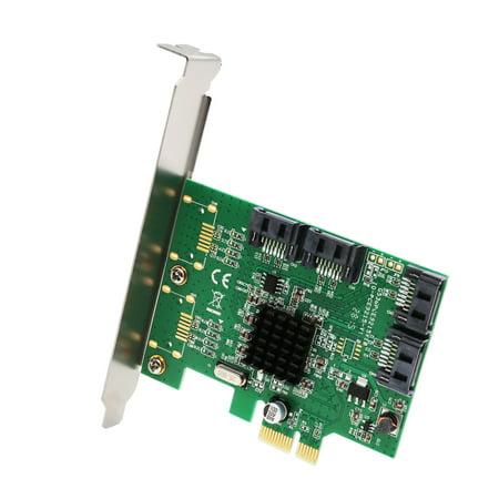 4 Port SATA III PCI-e 2.0 x1 Card