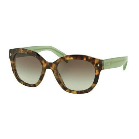 9a94549ff070 Prada - PRADA Sunglasses PR 12SS UEZ4K1 Spotted Brown Green 53MM -  Walmart.com