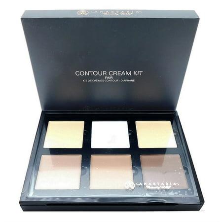 Anastasia Beverly Hills Contour Cream Kit Fair: Soft Light, Lustre, Fair, Fawn, Shadow, Mink (each .16 - Anastasia Kits