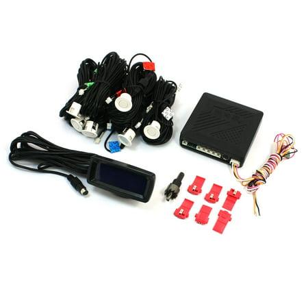 Auto Parking Sensor - Car Auto Reverse Radar Backup System 6 Parking Sensors Reversing Kit