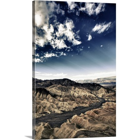 Great BIG Canvas | Scott Stulberg Premium Thick-Wrap Canvas entitled Zabriski Point at sunrise in Death Valley National Park, USA ()