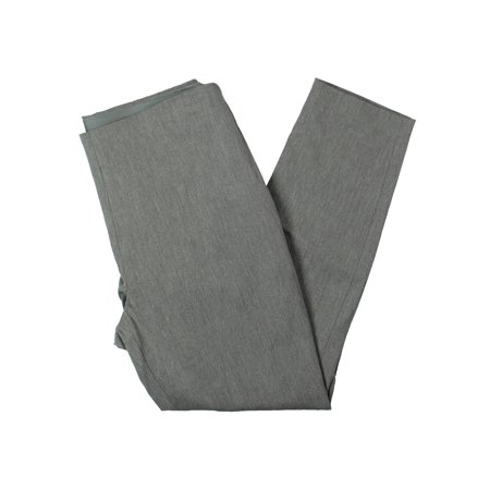 Wear Cropped Pants (RALPH LAUREN Womens Gray Cropped Wear To Work Pants Petites  Size: 8 )