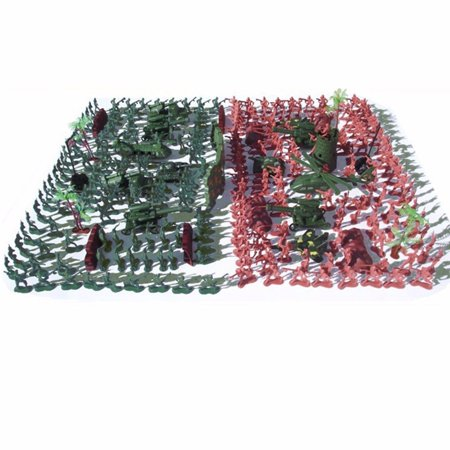 270 pcs Military Playset Plastic Toy Soldier Army Men 4cm Figures & Accessories - image 2 of 12