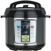 Sunpentown 6.5-Quart Electric Pressure Cooker, Black